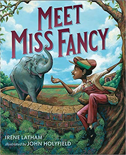 Meet Miss Fancy by Irene Latham