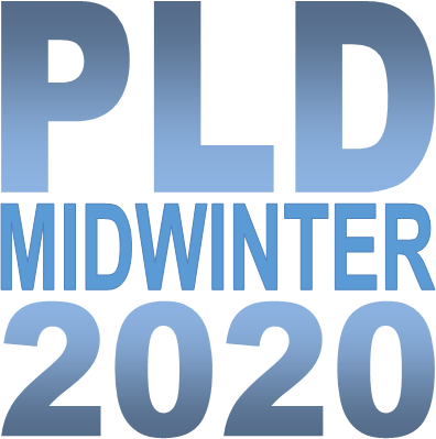 PLD Midwinter 2020 Conference Logo