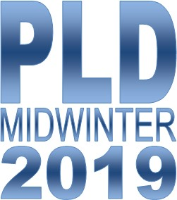 PLD Midwinter 2019 Conference Logo
